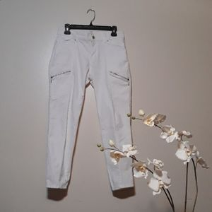 White House Black Market The Skinny Crop jeans